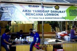 Timah buka pelayanan kesehatan korban gempa Lombok