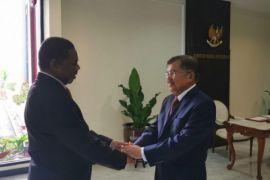 Wapres JK menerima kunjungan kehormatan Presiden Zanzibar