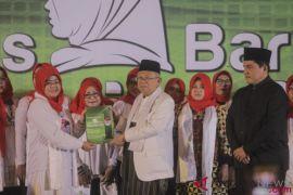 Ma'ruf Amin hadiri deklarasi Arus Baru Muslimah
