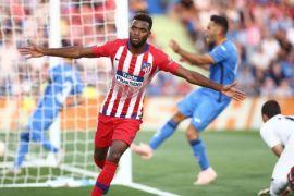 Gol perdana Lemar antar Atletico bekuk Getafe 2-0