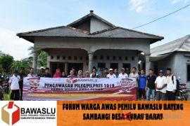 Bawaslu Bangka Tengah optimalkan kegiatan forum warga awas pemilu