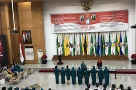 Iriana Jokowi saksikan sembilan istri Gubernur dilantik jadi Ketua Dekranasda