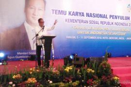 Mensos Agus berharap Penyuluh Sosial tingkatkan kualitas SDM