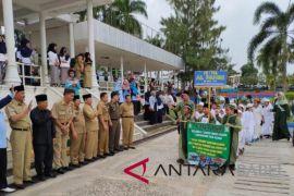 Ribuan siswa Pangkalpinang meriahkan pawai taaruf