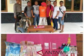 Polisi Tempilang ringkus pengedar sabu-sabu