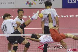Tumbangkan Jepang, Indonesia rebut medali emas sepak takraw