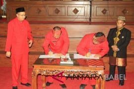 Rancangan APBD 2018 Bangka Barat disetujui DPRD