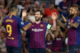 10 pemain Barcelona ditahan imbang Girona 2-2