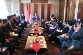 Presiden Jokowi temui empat pemimpin perusahaan Korea Selatan