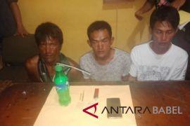 Polres Bangka amankan empat pengguna sabu