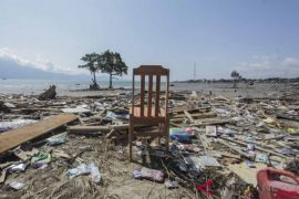 Kerusakan Akibat Gempa Dan Tsunami Wilayah Pantai Taipa