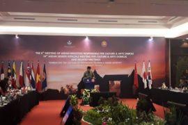 Pertemuan menteri anggota ASEAN untuk kebudayaan dibuka