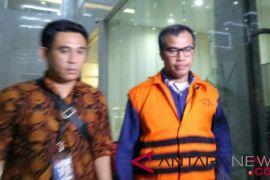 Satu tersangka suap DPRD Sumut ditahan KPK