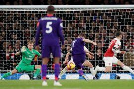 Arsenal tahan imbang Liverpool 1-1 di Emirates