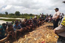 Polres Bangka Tengah tertibkan tambang timah di Merbuk dan Kenari