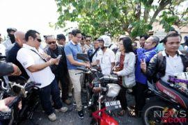 Sandiaga Uno bertemu komunitas motor RX King