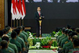 Presiden Jokowi: TNI harus rencanakan program pertahanan keamanan