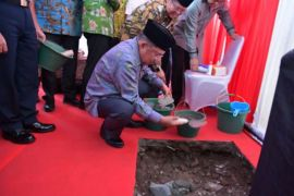 Wapres letakkan batu pertama pembangunan kantor DMI