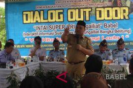 RRI Dialog di kebun lada petani Pangkalpinang