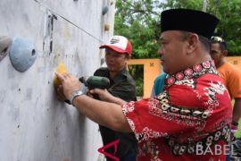 110 pesrta ikuti panjat dinding Bupati Cup