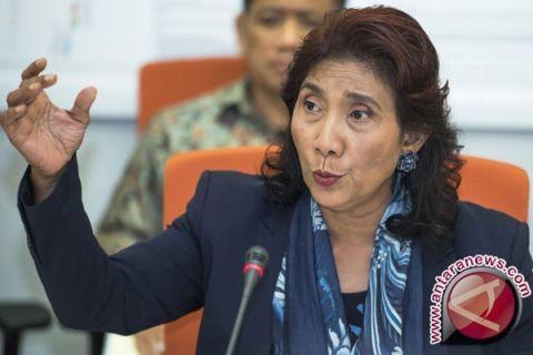 Menteri Susi mengimbau induk kepiting jangan dihabiskan