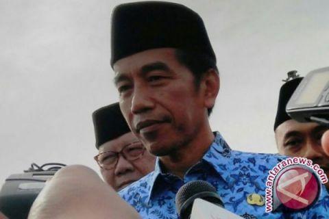 Presiden Berharap Ekonomi Berjalan Seiring Politik 2018