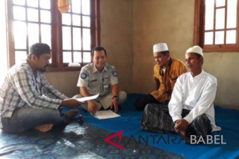 Jasa Raharja santuni korban lakalantas di Desa Nibung