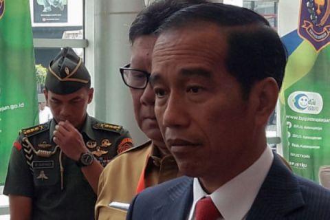 Presiden terima PB IDI di Istana Merdeka