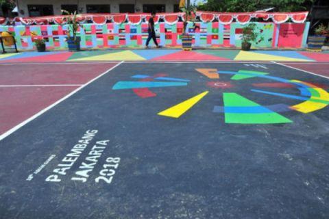 Kampung Asian Games di Palembang