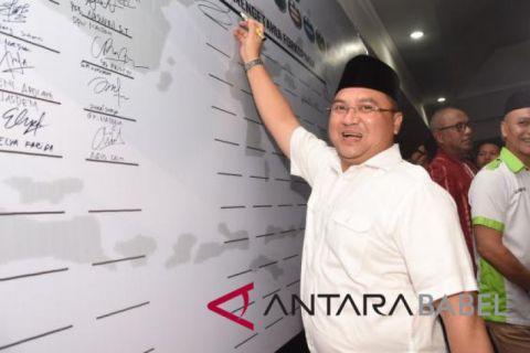 Bangka Belitung deklarasikan pemilu damai 2019