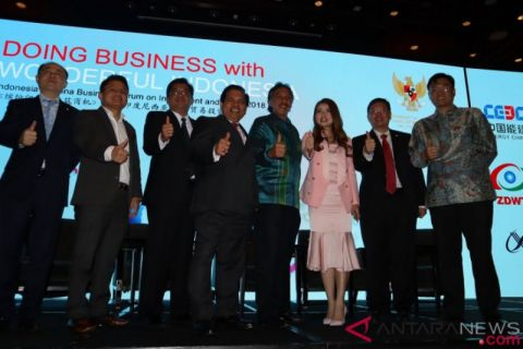 Forum bisnis Indonesia-China buka peluang investasi pengolahan sampah dan industri baja