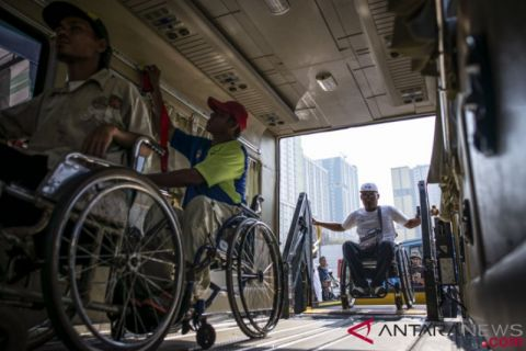 Simulasi Transportasi Asian Para Games