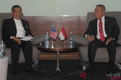 Menhan RI Bertemu Menhan Malaysia Bahas Isu Terkini