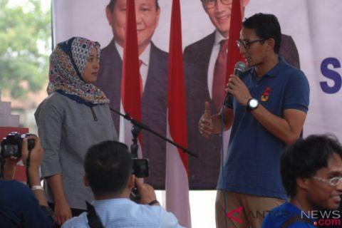 Sandiaga Uno Kunjungi Kawasan Borobudur