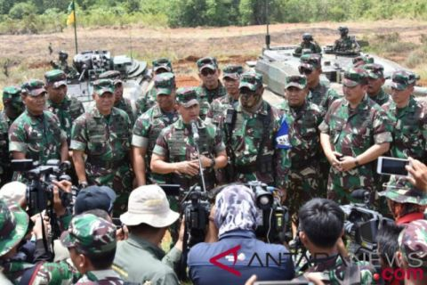 KSAD: Latihan TNI AD untuk tingkatkan akumulasi kemampuan tempur