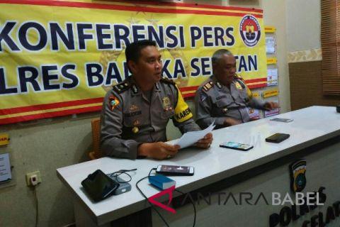 Polres Bangka Selatan tindak 648 pelanggar lalu lintas