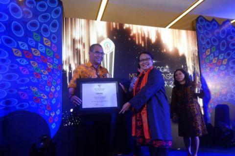 LKBN Antara raih penghargaan Media Menginspirasi Piala Merak 2018