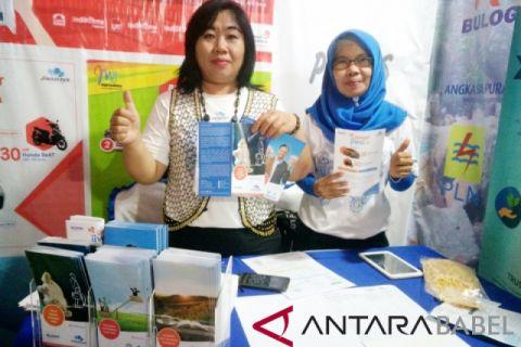 Jiwasraya tawarkan empat produk asuransi di Babel Fair 2018