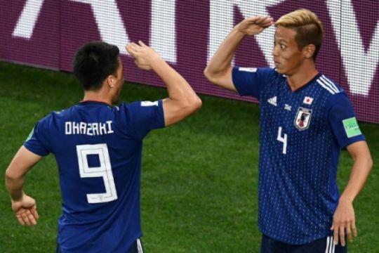 Honda selamatkan Jepang dari kekalahan atas Senegal 2-2