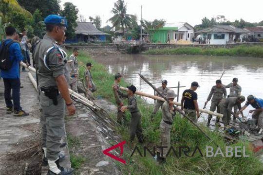 Satpol-PP tertibkan tambang ilegal di tiga lokasi
