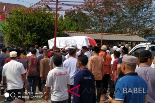 Jenazah staf DPRD Babel korban Lion Air dikebumikan pihak keluarga