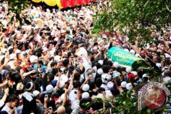 Pemakaman Ustadz Jefri