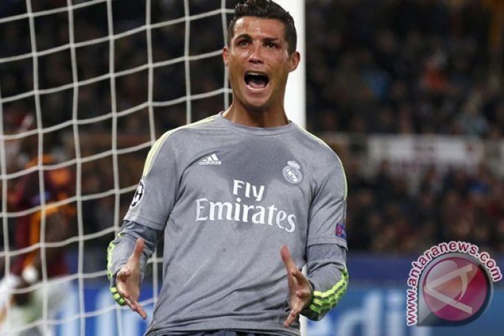 Ringkasan Pertandingan Liga Spanyol, Ronaldo Cemerlang