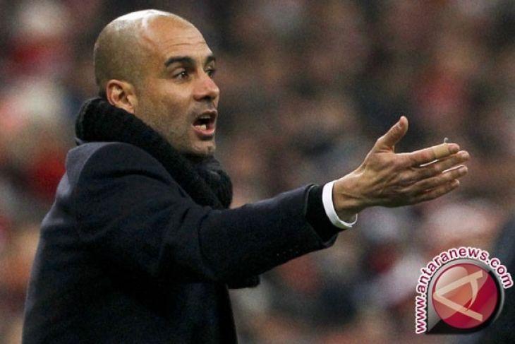 Guardiola kecilkan prospek rayakan gelar saat lawan Manchester United