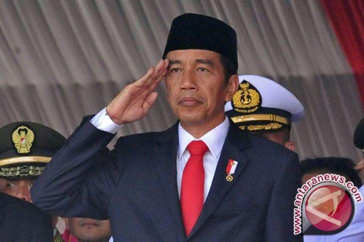 President Jokowi Visits Police Academy in Semarang