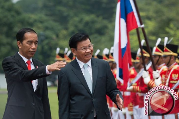 Presiden Jokowi: Indonesia-Laos Perkuat Kerja Sama