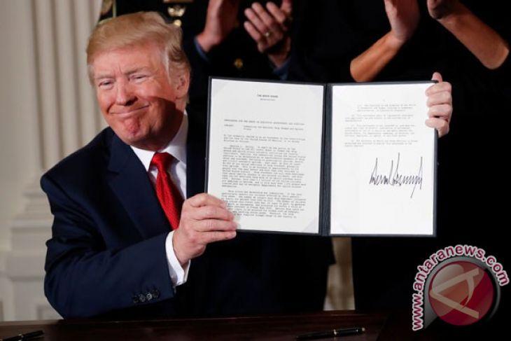Trump Beri Tahu Abbas Niatnya Pindahkan Kedutaan ke Jerusalem