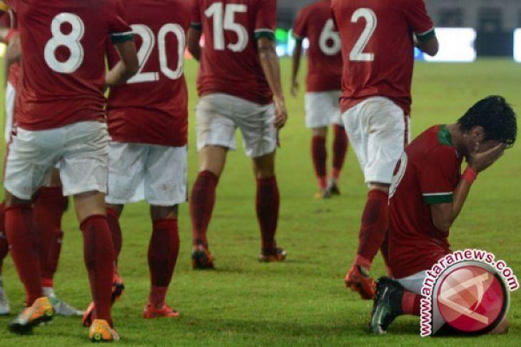 Spaso Dua Gol Indonesia Taklukkan Guyana 2-1