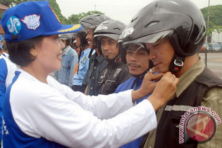 Kepolisian Ajak Pengojek Ikut Jaga Kamtibmas