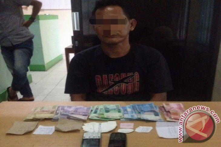 Polisi Muntok tangkap penjual toto gelap